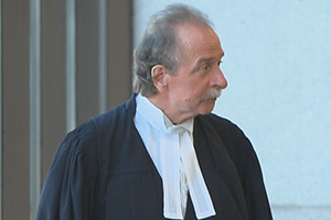 Me Guy Poupart, l'avocat de Richard Labrie