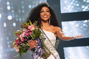 Cheslie Kryst, Avocate et... Miss USA !