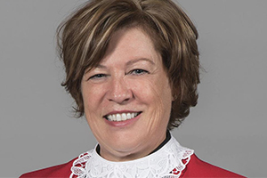 L'honorable Lucie Rondeau. Photo : Radio-Canada.