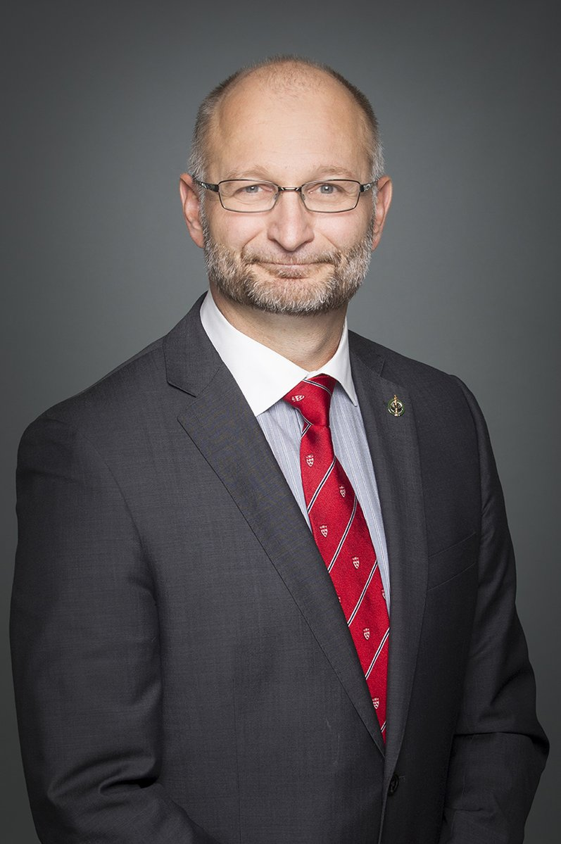 David Lametti, ministre de la Justice. Source : McGill