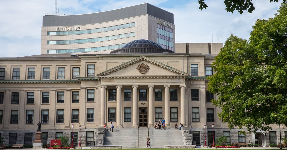 Université d'Ottawa. Photo : Université Ottawa