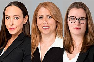 Mes Julie Lessard, Elsa Agostinho et Clara Berké. Photos : Site Web de BCF