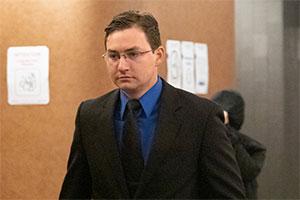 André Hébert-Ledoux was convicted of sexual assault.