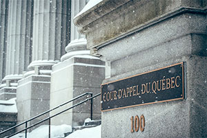 Cour d'appel du Québec. Photo : LinkedIn