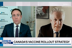 Jean Charest believes that Quebec's biggest problem is having to keep the health system going.