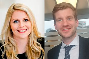 My Erika Normand-Couture and François Clément were the defendants' lawyers.  Photos: Woods website and Twitter