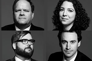 Mes William C. McDowell, Sana Halwani, Paul-Erik Veel et Brendan F. Morrison, les avocats de Subway. Photos : Site web de LENCZNER SLAGHT ROYCE SMITH GRIFFIN LLP