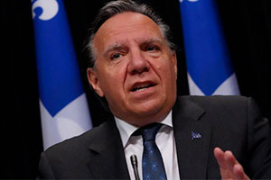 François Legault. Photo : Radio-Canada