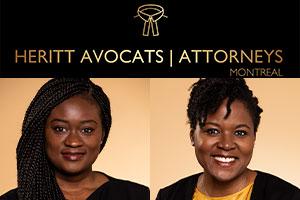 My Abla Kekeli Maglo and Suzanne Taffot.  Photos: Heritt Avocats website