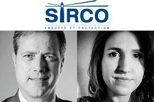 Claude Sarrazin and Arianne Laberge.  Photos: Sirco website and LinkedIn