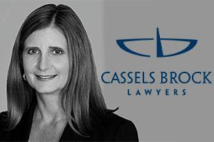 Me Kristin Taylor, Assistant Managing Partner of Cassels.  Photo: Cassels Brock website
