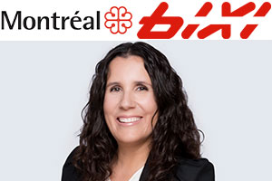 It is Me Eleni Yiannakis who takes the reins today.  Photos: City of Montreal, BIXI and IMK websites