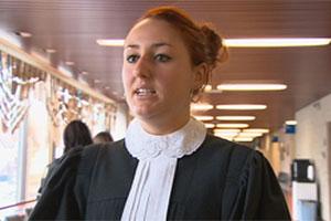 Prosecutor Marie-Christine Savard.  Photo: Radio-Canada