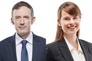 My Kristian Brabander and Catherine Martin.  Photo: McCarthy Tétrault website