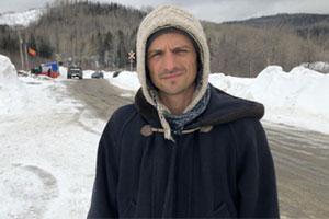 Pascal Bergeron, spokesperson for Environnement vert-plus.  Photo: Radio-Canada
